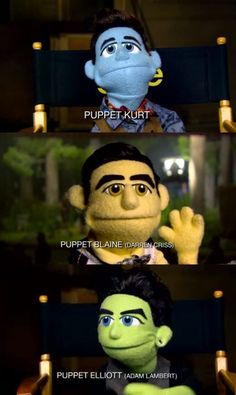 Glee puppets