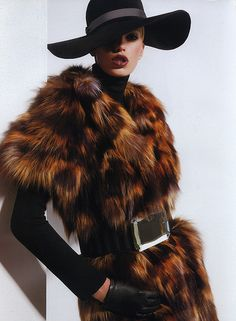 Fur & hat, perfect