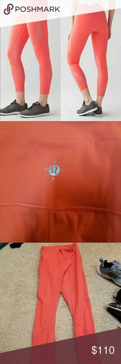 Lululemon wanderlust Lululemon wanderlust highest time pants. Super rare. Sold out within like a day. High wasted. Size 6. Worn maybe 5 times. They're just too big on me. Tag is torn out due to comfort. lululemon athletica Pants Leggings