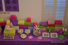 A week ago, I helped set up a LEGO ® Friends Birthday Party for a sweet little girl. The mom contacted me about 4 weeks prior and s. Girls Lego Party, 7th Birthday Party Ideas, Lego Girls, Lego For Kids, Lego Friends Birthday, Lego Friends Party, Girl Birthday, Husband Birthday, Happy Birthday