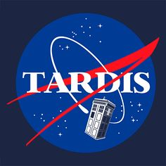 Nasa Tardis @ Textual Tees  #tshirt #movie #series #film #TV