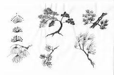 tree chinese painting - Buscar con Google