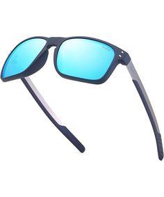 Polarized Sunglasses Square Sun Glasses For Men/Women TR90 Unbreakable Frame 2556R - Ice Blue - C918S4WDUEL #Polarized#Sunglasses#Square#Sun#Glasses#For#Men#Women#TR90#Unbreakable#Frame#2556R#Ice#Blue#C918S4WDUEL Oval Sunglasses, Polarized Sunglasses, Mirrored Sunglasses, Sunglasses Women, Hd Vision, Outdoor Woman, Mens Glasses, Vintage Men, Ice