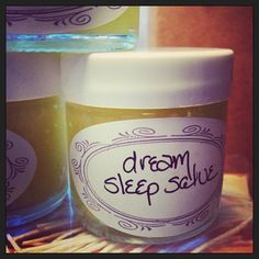 Dream Sleep Salve ~ popping up on nightstands everywhere :)