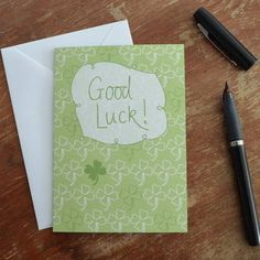 Good Luck Card