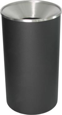 33 gallon heavy duty metal indoor trash can wr33f 6 color choices