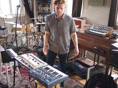 """""""we're gonna need more synths"""" #studiolife #lp2 #fishtown"""