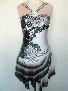 NEW Figure Skating Twirling Baton Dress Adult S | eBay