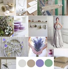Color palette wedding violet mint. Add some pink, gold, and silver and I'm set!