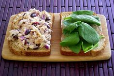 Recipe: Cranberry-Almond Tuna Salad Sandwiches | Poor Girl Eats Well — How to eat ridiculously well on a minuscule budget.