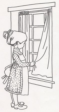 Girl Closing Curtains | Flickr - Photo Sharing!