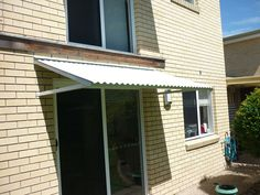 Colorbond Awning with Welded Aluminium Frane - Dicky Beach