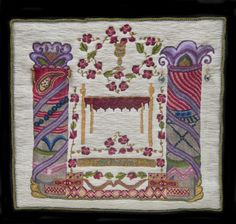 Stitched & Sewn: The Healing Art of Trudie Strobel Wedding Chuppah, Healing, Sew, Quilts, Stitch, Artwork, Fabric, Pattern, Color