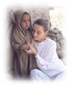 Audrey Hepburn is known for her beauty, class and her movies...but did you know she spent many years of her life as  a humanitarian and philanthropist?