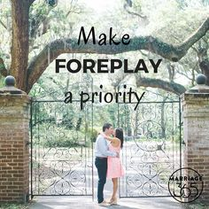 Don't skip out on foreplay...ever!