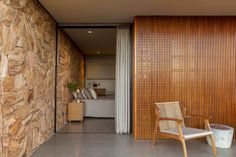 Gallery of House of the Stones / mf+arquitetos - 44