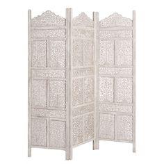 Raumteiler MILLE ET UNE NUIT aus Holz, B 150 cm, grau Jetzt bestellen unter: https://moebel.ladendirekt.de/wohnzimmer/regale/raumteiler/?uid=12a92b9f-3e6f-59a0-b4b1-281c86cf35a1&utm_source=pinterest&utm_medium=pin&utm_campaign=boards #wohnzimmer #raumteiler #regale