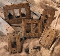 I hand-carve each Old West switch plate using tattered barn wood as a model. - I hand-carve each Old West switch plate using tattered barn wood as a model. No two are alike. Country Decor, Rustic Decor, Farmhouse Decor, Rustic Barn, Rustic Wood, Old Western Decor, Rustic Theme, Salvaged Wood, Rustic Man Cave