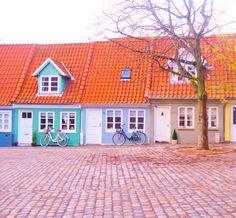Aalborg, Denmark...where I come from! Aalborg, Copenhagen Denmark, Old Houses, Finland, Danish, Norway, Scandinavian, Feminine, Dreams