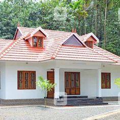 #TraditionalStyle #CostEffective #ElegantHouse #Homestyle  കുറഞ്ഞ ചെലവിൽ ഭംഗിയുള്ള വീട്;കാണാൻ ആൾത്തിരക്ക്! മികച്ച മാതൃക... Classic House Design, Simple House Design, House Design Photos, Minimalist House Design, Kerala Traditional House, Traditional House Plans, Traditional Homes, House Plans Mansion, Bungalow House Plans