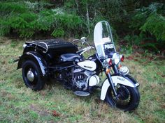 1966 Harley Davidson Police Servi-Car (only 625 ever made). www.midamericaauctions.com
