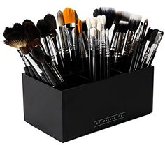 Shop a great selection of Makeup Co Makeup Brush Holder Organizer - 6 Slot Acrylic Cosmetics Brushes Storage Solution. Find new offer and Similar products for Makeup Co Makeup Brush Holder Organizer - 6 Slot Acrylic Cosmetics Brushes Storage Solution. Makeup Brush Case, Makeup Brush Storage, Makeup Brush Holders, Cosmetic Storage, Makeup Organization, It Cosmetics Brushes, Makeup Brushes, Makeup Collection Storage, Brush Kit