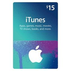 $15+iTunes+Gift+Card