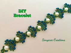 Peacock Beaded Bracelet (Square Stitch) - YouTube