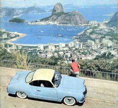 Estrada de acesso ao Mirante de Dona Marta . Botafogo, 1964.    https://www.facebook.com/Guarantiga/photos/a.490233921007939.115673.490210317676966/1041730172524975/?type=1&theater