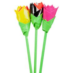 Bulk Duct Tape Craft Idea: Colorful Flowers at DollarTree.com Please follow us @ http://www.pinterest.com/ducktapesale/