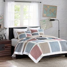 INK+IVY Dylan Quilt 3-piece Mini Set - Overstock Shopping - The Best Prices on Ink and Ivy Teen Quilts