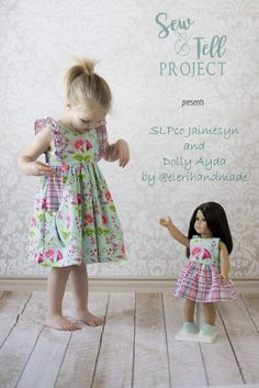 This dress from Simple Life Pattern Company is definitely next on my must sew list! Such a cute look look for little girls for summer.