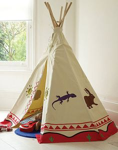 Great wigwam - perfect outdoors or in the playroom