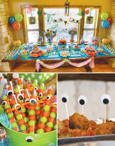 Monster Birthday Theme @heyitsphil would love this