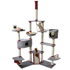 cat tree house - Google Search