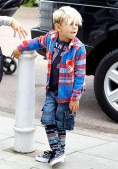 【JUKSY 流行新童盟】三月份week 4 關史蒂芬妮 兒子 Kingston Rossdale 特別整理