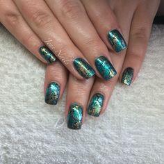 Jade Nails, Green Nails, Neon Acrylic Nails, Cnd Shellac, Pretty Nails, Nail Art, Beauty, Green Toe Nails, Green Nail