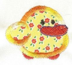 Itty Bitty Duck Applique | Mini Designs | Machine Embroidery Designs | SWAKembroidery.com Designs by Juju