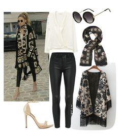 """""""Celebrity Street Style"""" by rhmz on Polyvore featuring MANGO, Alexander McQueen, Steven by Steve Madden, Topshop, women's clothing, women's fashion, women, female, woman and misses"""