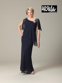 Ursula of Switzerland 63191 Plus Size Mother of the Bride Dress