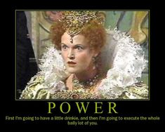 Blackadder Quotes - One of the best Queenie quotes from Blackadder series 2