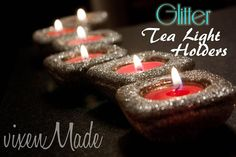 vixenMade: Glitter Tealight Holders (HoH123)