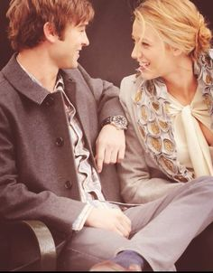 Chace Crawford and Blake Lively