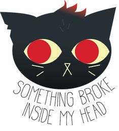 I don't remember if that's the exact quote, but anyway Mae really resonates with me. So I made a little doodle in Illustrator. Night in the Woods is an amazing game, please check it out!