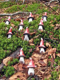 Items similar to Raku Pottery Clay Gnome Home Toadstool Mushroom on Etsy Clay Fairy House, Gnome House, Fairy Garden Houses, Fairy Gardens, Raku Pottery, Pottery Art, Mushroom Crafts, Fairy Crafts, Clay Houses