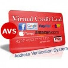 Cheap Instant avs vcc for paypal