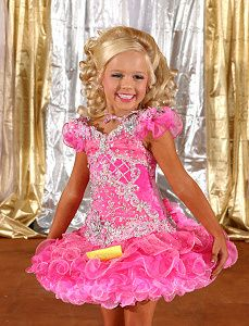 Girls Wearing Pageant Dresses