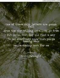Civil Twilight Letters From The Sky Music