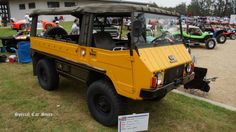 1972 Pinzgauer 710M at Steve McQueen Car and Motorcycle Show 2014 http://www.specialcarstore.com/content/2nd-annual-steve-mcqueen-rally-may-20-21-2017