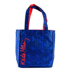 Bleecker Mini Box Tote Blue Red, $19, now featured on Fab.